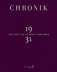 Chronik 1931, Jubiläumsband