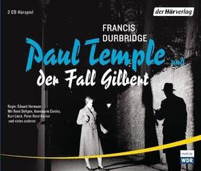 Paul Temple und der Fall Gilbert, 4 Audio-CDs