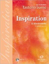 Inspiration, für Klavier, m. Audio-CD; Tlbd/Part 113