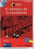 El misterio de la estudiante, 1 Audio-CD m. Begleitbuch