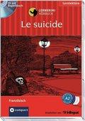 Le suicide, 1 Audio-CD + Begleitbuch