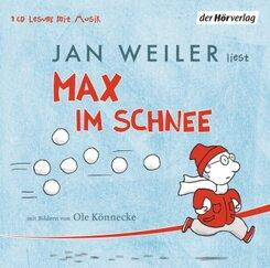 Max im Schnee, 1 Audio-CD