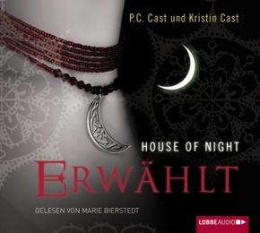 House of Night - Erwählt, 4 Audio-CDs