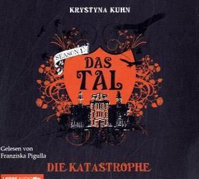 Das Tal - Season 1 - Die Katastrophe, 4 Audio-CDs