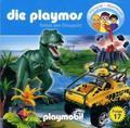 Die Playmos - Rettet den Dinopark, 1 Audio-CD