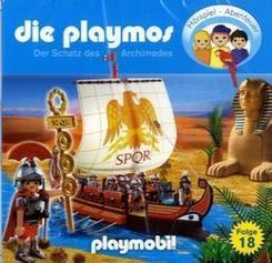 Die Playmos - Der Schatz des Archimedes, 1 Audio-CD