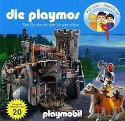 Die Playmos - Die große Schlacht der Löwenritter, 1 Audio-CD