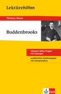 Lektürehilfen Thomas Mann 'Buddenbrooks'