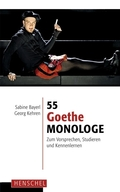 55 Goethe-Monologe