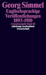 Englischsprachige Veröffentlichungen 1893-1910