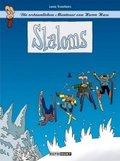 Die erstaunlichen Abenteuer von Herrn Hase - Slaloms