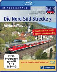 Die Nord-Süd-Strecke, Blu-rays: Fulda - Würzburg, Blu-ray; Tl.3