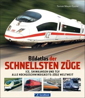 Bildatlas der schnellsten Züge