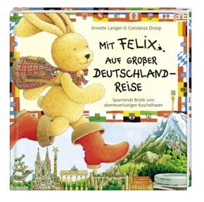 Mit Felix auf großer Deutschlandreise, m. Puzzle