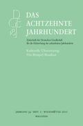 Das achtzehnte Jahrhundert: Kulturelle Übersetzung: Das Beispiel Brasilien; Jg.34/2
