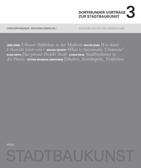 Dortmunder Vorträge zur Stadtbaukunst - Bd.3