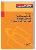 Einführung in die Grundlagen der Literaturwissenschaft