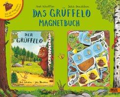 Das Grüffelo Magnetbuch, m. 60 Magneten u. Grüffelo Mini-Bilderbuch in Spielbuch-Koffer