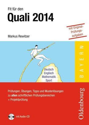 Fit für den Quali 2014, Bayern, m. Audio-CD