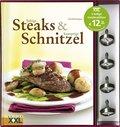 Saftige Steaks & knusprige Schnitzel, m. 4 Steakthermometern