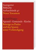 Stuttgarter Biblische Aufsatzbände (SBAB): Apostel - Gemeinde - Kirche