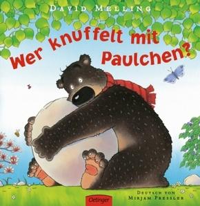 Wer knuffelt mit Paulchen?