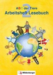 ABC der Tiere: 2. Schuljahr, Arbeitsheft Lesebuch