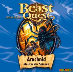 Beast Quest - Arachnid, Meister der Spinnen, 1 Audio-CD