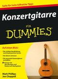 Konzertgitarre für Dummies, m. Audio-CD