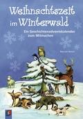 Weihnachtszeit im Winterwald