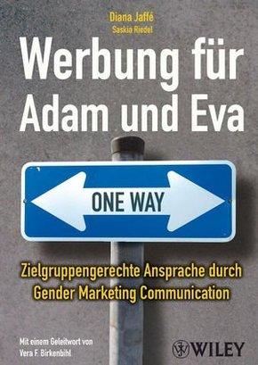 Werbung für Adam und Eva