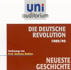 Die deutsche Revolution 1989/90, 1 Audio-CD