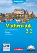Mathematik Gymnasiale Oberstufe Hessen: 2. Halbjahr - Leistungskurs, Schülerbuch m. CD-ROM; Bd.2
