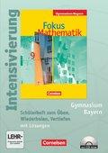 Fokus Mathematik, Gymnasium Bayern: 9. Jahrgangsstufe, Intensivierung Mathematik m. CD-ROM