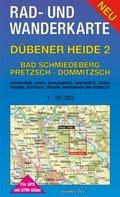 Rad- und Wanderkarte Dübener Heide - Tl.2