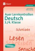 Auer Lernkontrollen Deutsch 3./4. Klasse