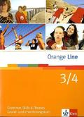 Orange Line: Klasse 7/8, Grammar, Skills & Phrases; Bd.3/4