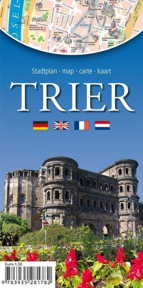 Stadt- und Tourenplan Trier