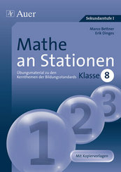 Mathe an Stationen, Klasse 8