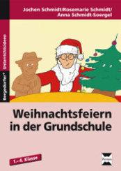 Weihnachtsfeiern in der Grundschule