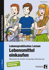 Lebenspraktisches Lernen: Lebensmittel einkaufen