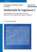 Mathematik für Ingenieure: Lineare Algebra und analytische Geometrie, Differential- und Integralrechnung einer Variablen; Aufgaben und Lösungen, 2; Bd.1