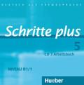 Schritte plus - Deutsch als Fremdsprache: Audio-CD zum Arbeitsbuch mit interaktiven Übungen; Bd.5