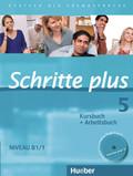 Schritte plus - Deutsch als Fremdsprache: Kursbuch + Arbeitsbuch, m. Audio-CD zum Arbeitsbuch; Bd.5