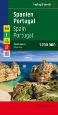 Freytag & Berndt Autokarte Spanien, Portugal; Spain, Portugal. España, Portugal. Espagne, Portugal. Spagna, Portugal