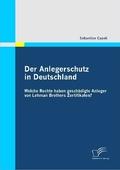 Der Anlegerschutz in Deutschland