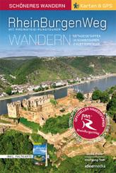 Rheinburgenweg mit Rheinsteig-Rundtouren Schöneres Wandern Pocket mit herausnehmbarer Übersichtsfaltkarte, m. 1 Karte