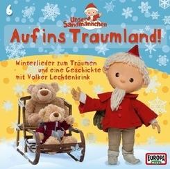 Unser Sandmännchen - Auf ins Traumland, 1 Audio-CD