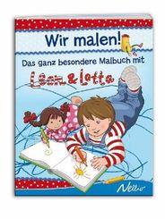 Wir malen! - Das ganz besondere Malbuch mit Leon & Lotta