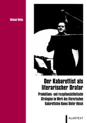 Der Kabarettist als literarischer Orator